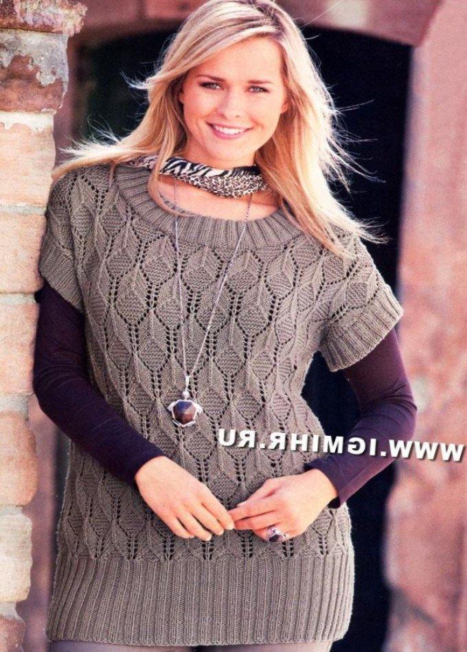 вязание спицами модели и схемы бесплатно для полных женщин Peatix
