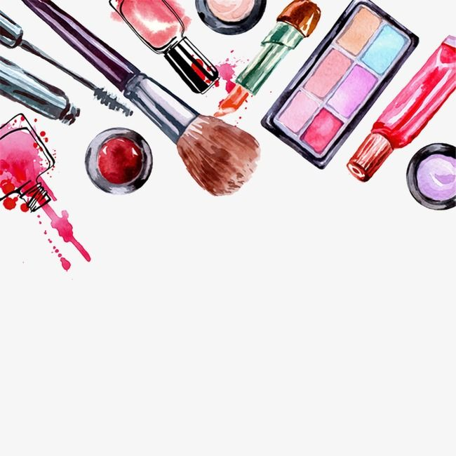Drawing Cosmetics Makeups Cosmetic Watercolor Png Transparent Clipart Image And Psd File For Free Download Makeup Illustration Makeup Wallpapers Makeup Backgrounds