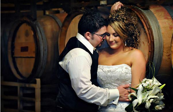 ROCHELLE & WILL - Double Take Photography  — at Woodriver Cellars.
