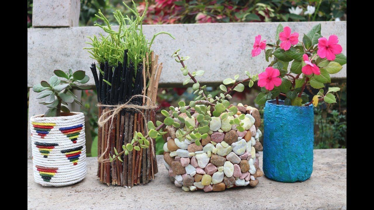 4 amazing planter ideas from waste plastic bottles unique