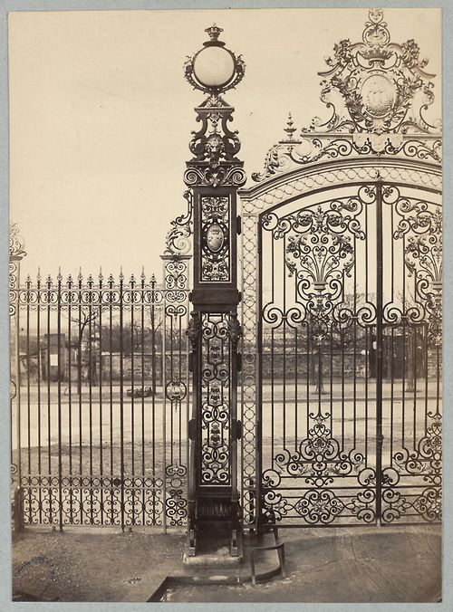 .      Charles Marville      Parc Monceau c.1853-c.1870
