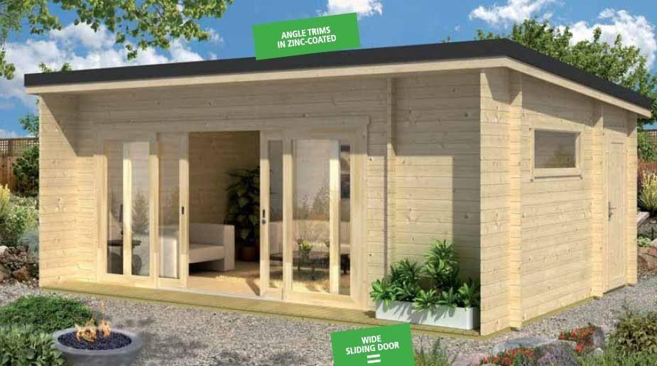 Garden loft by casette italia - Casette in legno per giardino ...