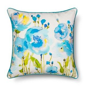 Threshold� Cool Floral Decorative Pillow