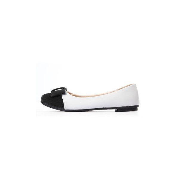 Bow Flat Prom Schuhe Ballett Ballerina Casual Dolly Pumps (£ 15) ❤ mochte auf Poly ...#auf #ballerina #ballett #bow #casual #dolly #flat #mochte #poly #prom #pumps #schuhe