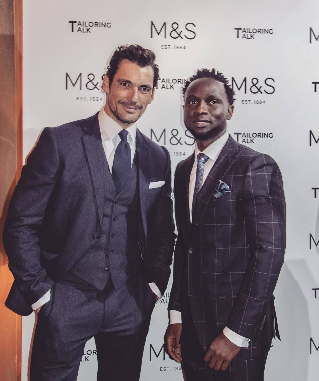 """164 Likes, 20 Comments - Cuts for him (@cutsforhim) on Instagram: """"About last night! It was an absolute honour to have been invited to @marksandspencer #TailoringTalk…"""""""