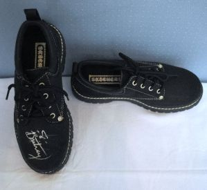 free shipping 4853b c3b85 These are Britney Spears' shoes from when she endorsed ...