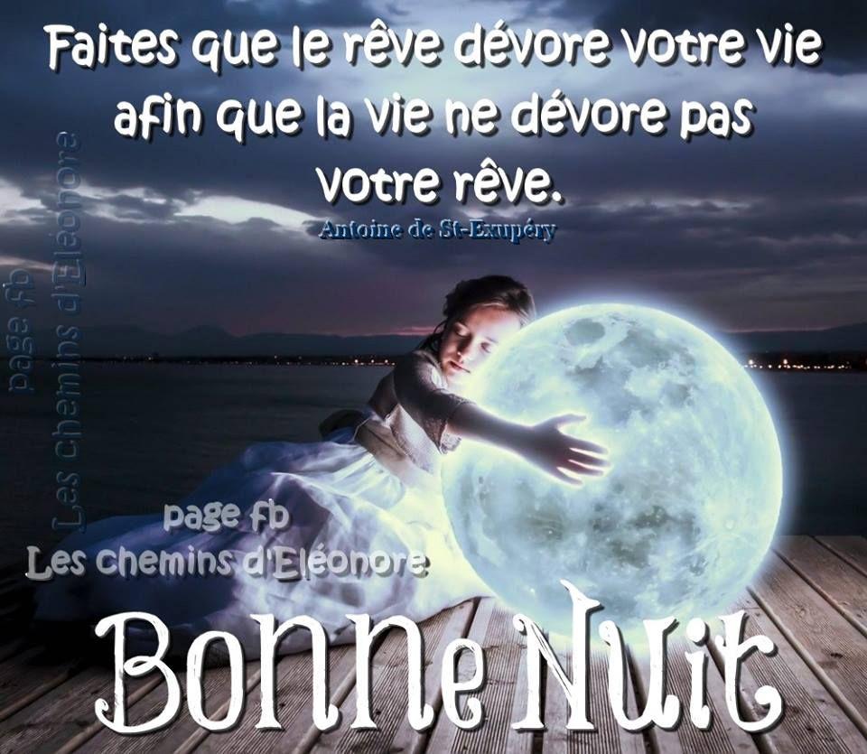 Bonne Nuit Image 7795 Faites Que Le R Ve D Vore Votre Vie Afin
