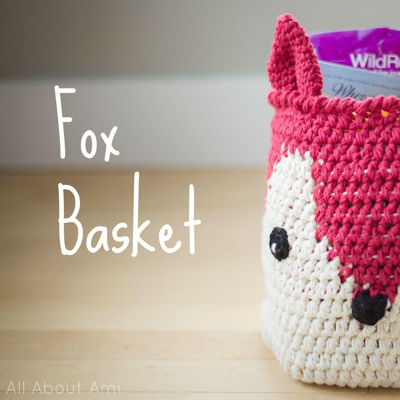 Sneak peek of upcoming step-by-step blog post: Fox Basket ...