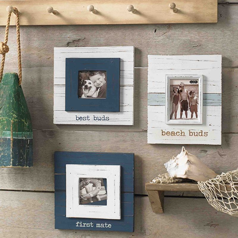 Mud Pie has unique distressed frames for a gallery wall or picture ...