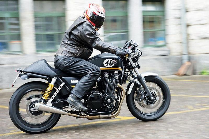 Honda Cb 1100 Dark Racer Cafe And