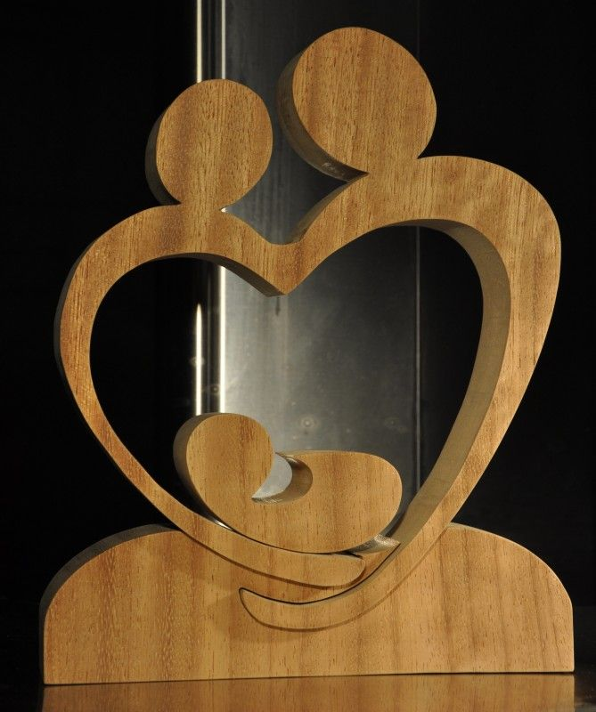 Ouders met kind wood cut outs pinterest woodworking