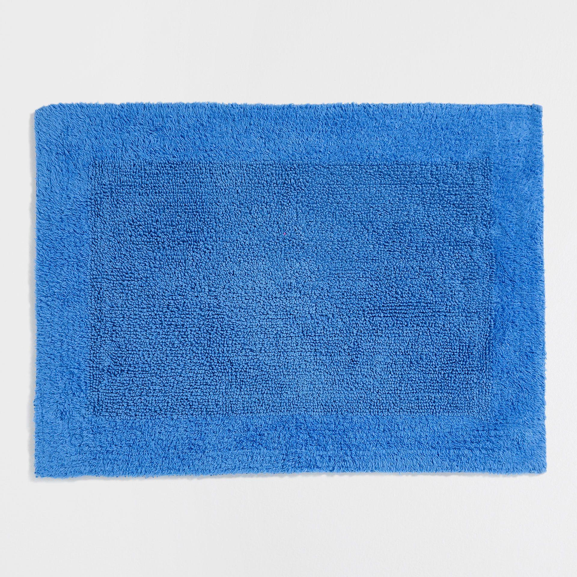 Ürün görseli 1 Çerçeveli, çift taraflı mavi banyo paspası | deco, Badezimmer ideen