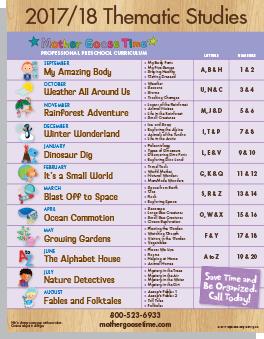 themes  mother goose time preschool lesson plans lesson
