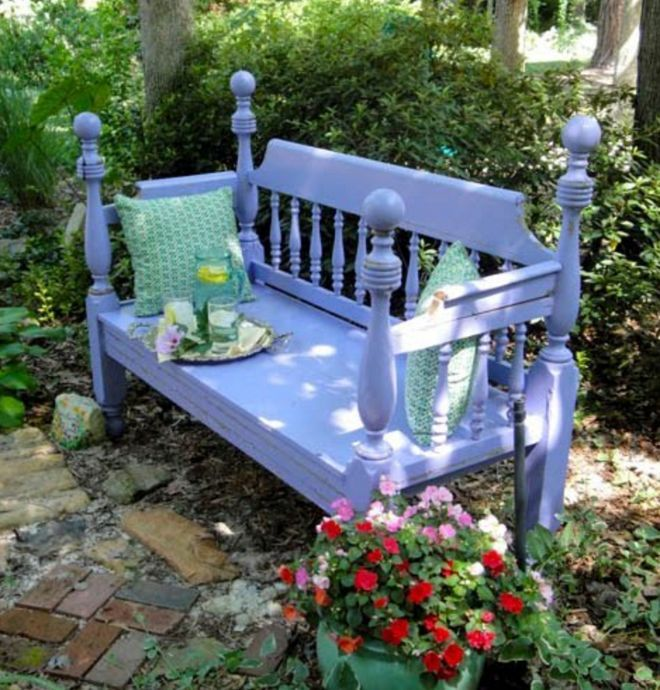 8 Stunning Ideas For Turning Old Headboards Into A Bench
