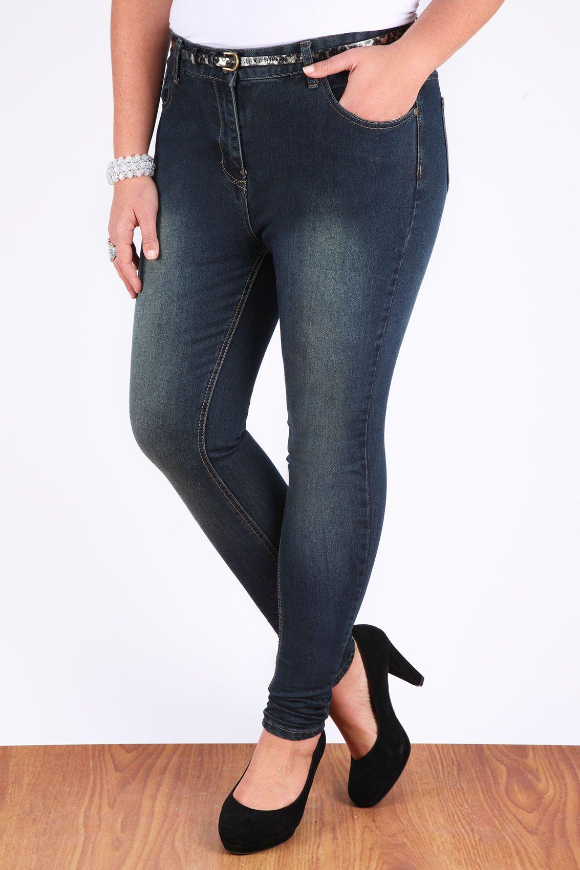 Super stretch skinny jeans size 20
