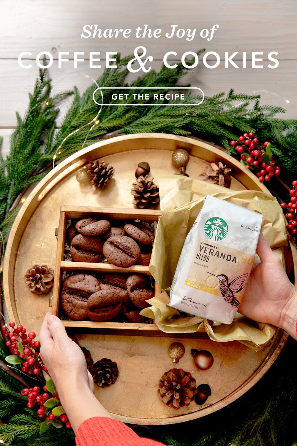 Share The Joy With Neighbors Starbucks At Home Us Holiday Blend Joy Holiday Coffee