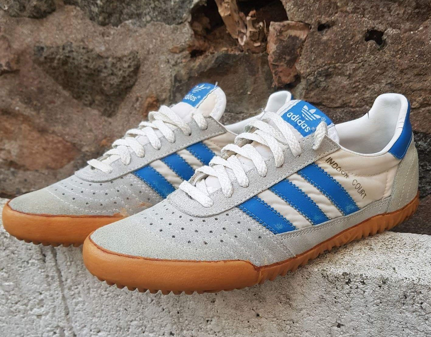 Vintage Adidas Indoor Court, circa '83, made in Taiwan | Zapatos ...
