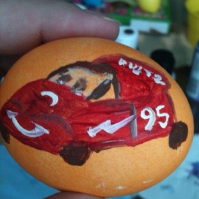 Lightning McQueen Easter egg