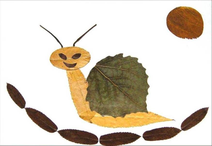 35 Creative Leaf Animal Art Creative Ideas Leaf Animals Autumn