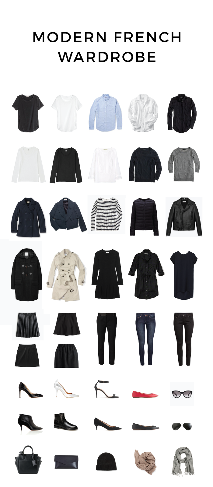 Modern French Wardrobe For Fall And Winter