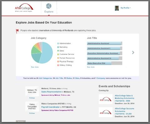 How To Find Better Entry Level Jobs On Aftercollege Job Title