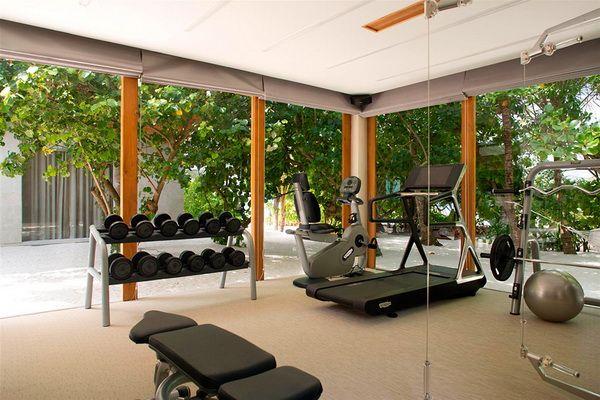 Fantasy Island Come Alive Coco Prive Kuda Hithi Island Maldives Home Gym Decor Home Gym Design Gym Room At Home