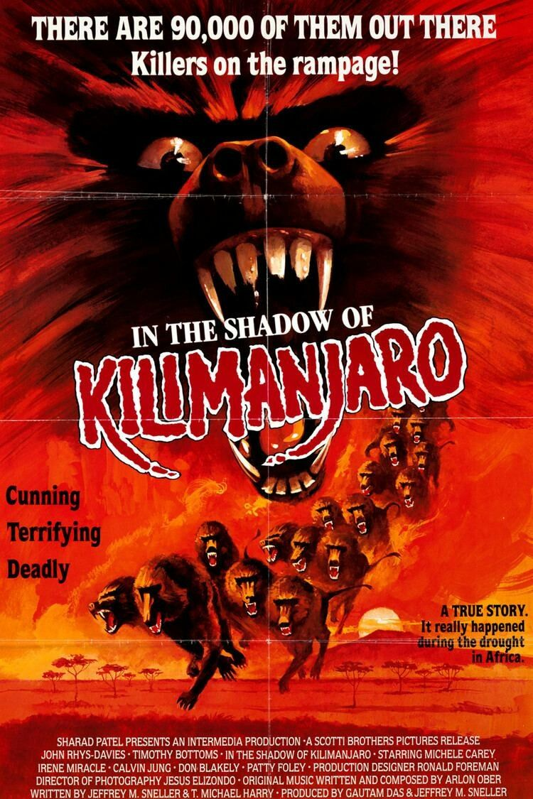 IN THE SHADOW OF KILIMANJARO (1986) (con imágenes)