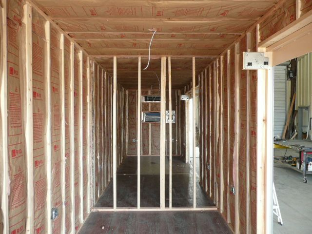3 Options To Insulate A Shipping Container Home Interior