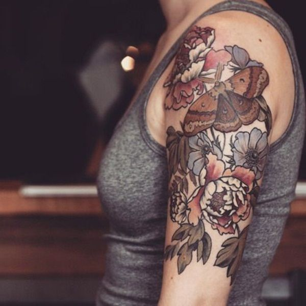 65 eye catching brown ink tattoo designs pinterest for Never fade tattoo