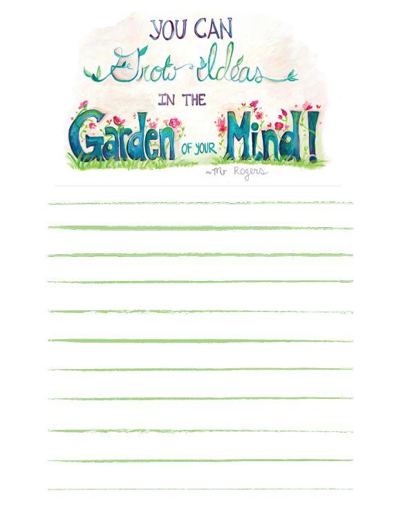 Free Notepaper Printable