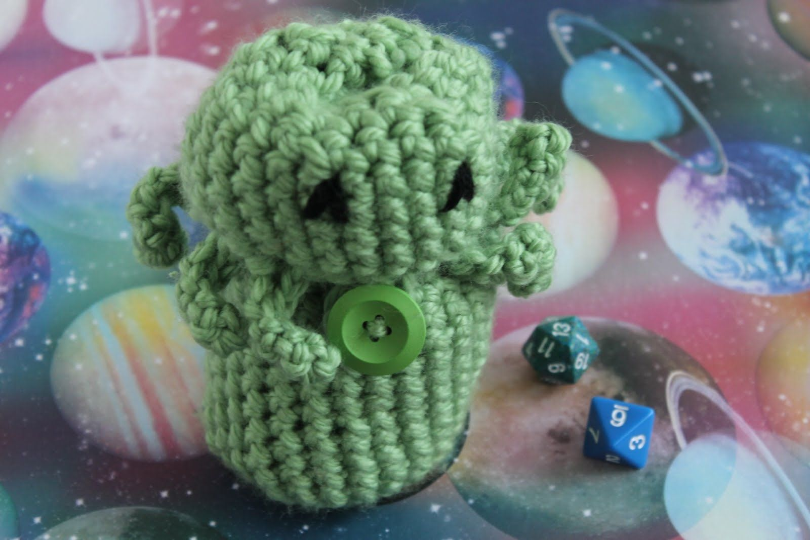 Free cthulhu dice bag crochet pattern bankloansurffo Choice Image