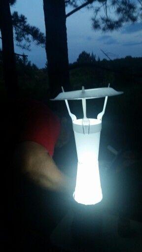 Homemade Camping Lantern