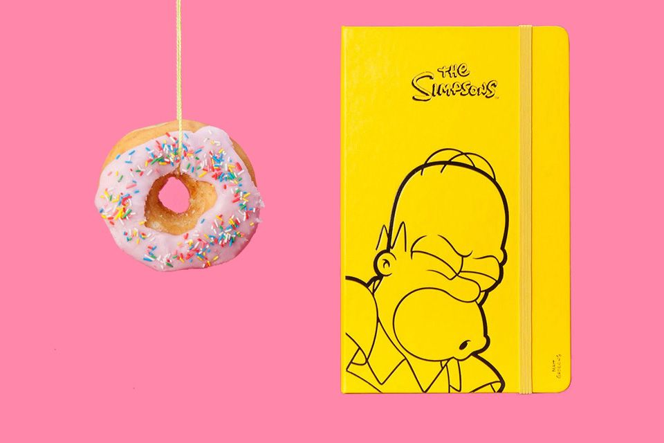 The Simpsons x Moleskine: Limited Edition Notebook