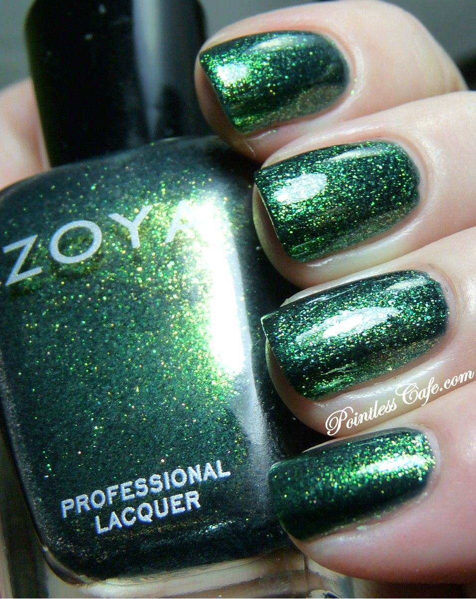 I feel so amazing because I can say that I HAVE THIS POLISH :) It's in my drawer right now! :) that must make me like, stylish, or something!