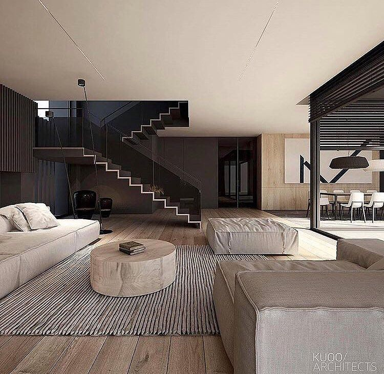 Elegantlife On Instagram Beautiful Living Space Via Classy Homes Warsaw Poland Designed By Kuo Modern Houses Interior Living Room Decor Modern Home