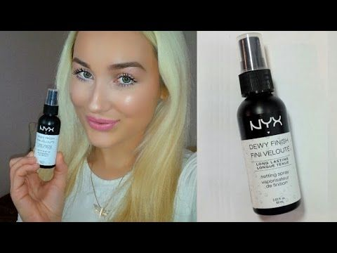 Dewy Finish Makeup Setting Spray by NYX Professional Makeup #4