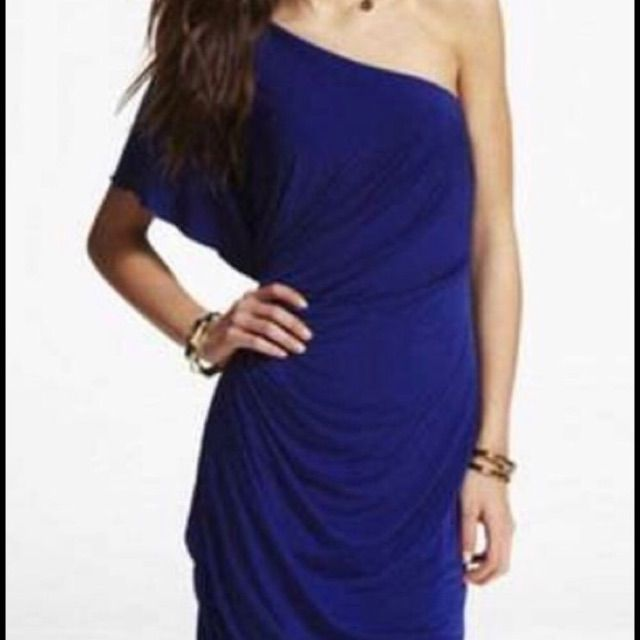 Express One-Shoulder Cocktail Dress   Products