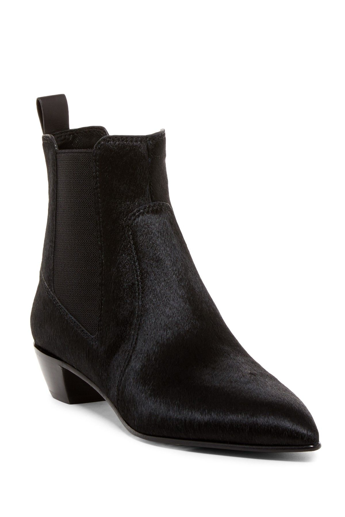 Marc by Marc Jacobs | Lou Pointed Toe Genuine Calf Hair Chelsea Boot