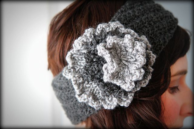 Spiral-Ribbed Headband (With images) | Knitted headband
