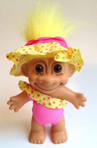 Puppen & Zubehör My Lucky Flower Girl 4 MINI Troll Doll