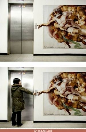 God and the elevator.