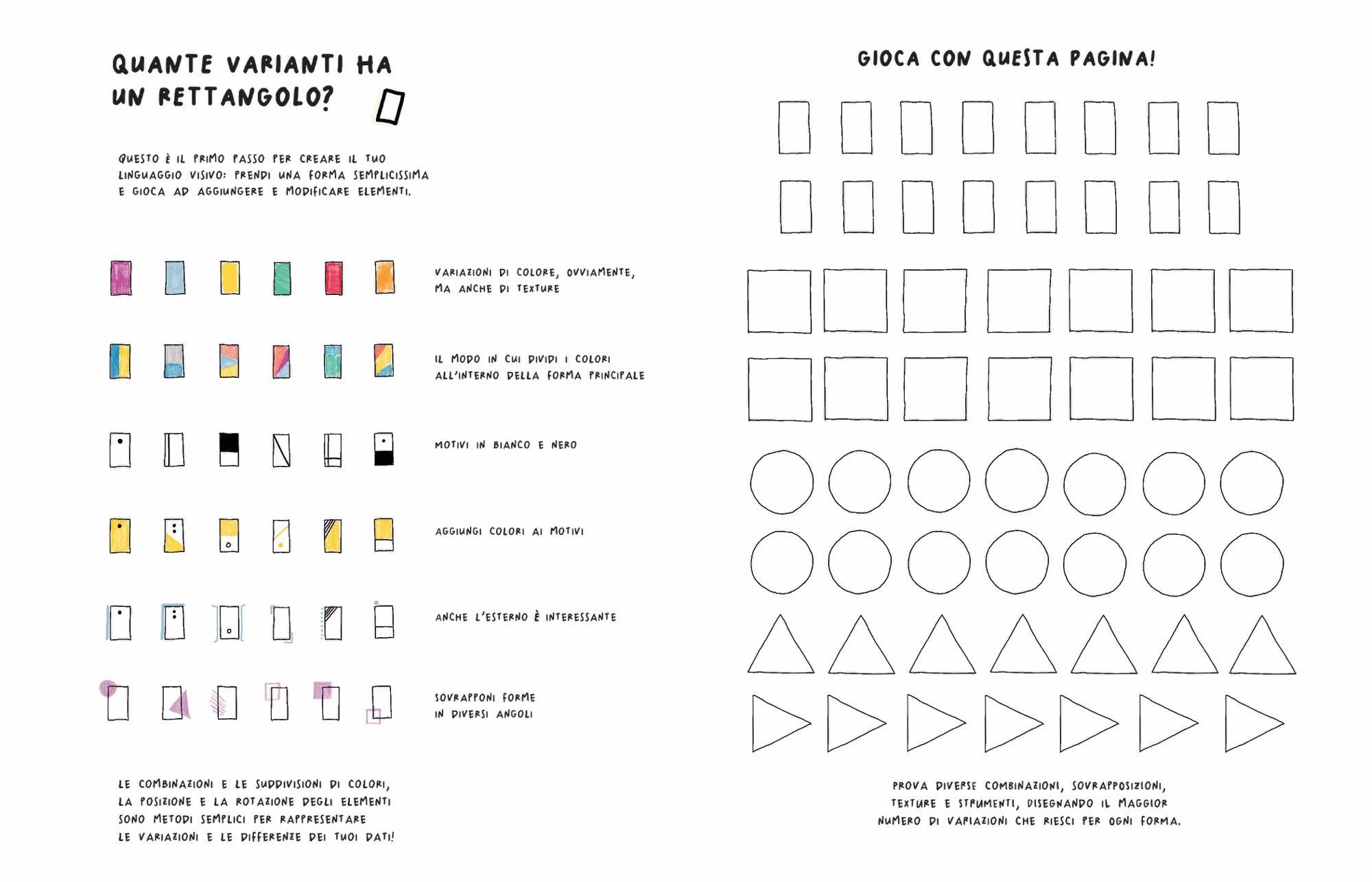 Observe Collect Draw Un Diario Che Accompagna Nel Mondo Dell Information Design Infografica Design Disegni A Mano