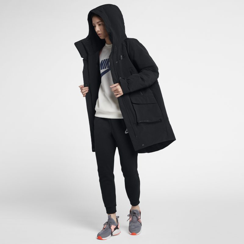bf19a6e3 Nike Sportswear Tech Pack Down-Fill Women's Parka - Black | Products ...