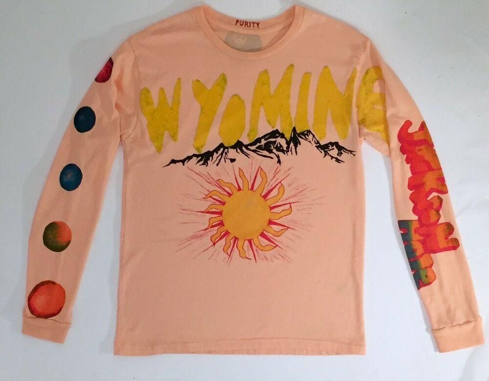 Kanye West Pink Wyoming Kim Kardashian West Long Sleeve Sz M Brand New Fashion Clothing Shoes Accessories Kanye West And Kim Kanye West Kim Kardashian