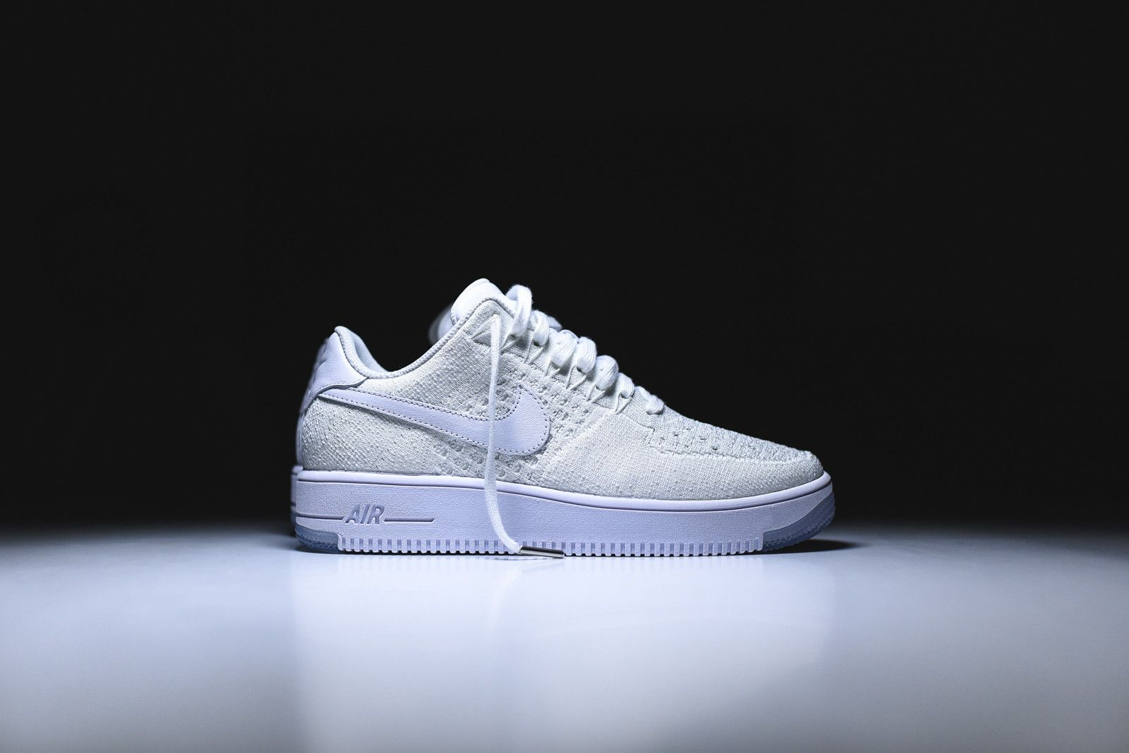 newest 2999c 120b0 Nike Air Force 1 Flyknit Low - Triple White | Sneakers ...