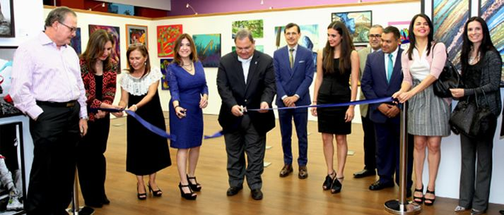 Se inaugura la 1ª Exposición Internacional EXATEC de Arte en EGADE Business School Monterrey.