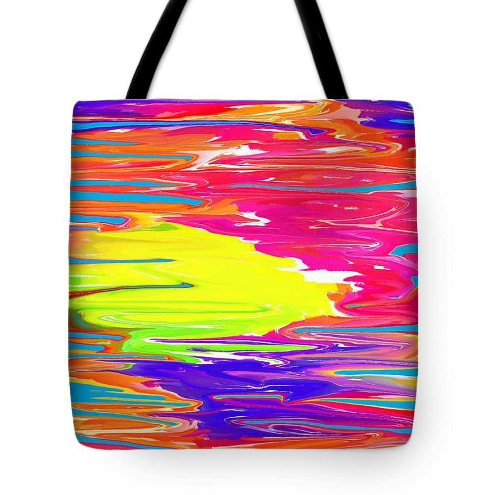 Colorful Abstract 10 Tote Bag by Chris Butler.  #totebag #bag #abstract #colorful #design #art #Lifestyle