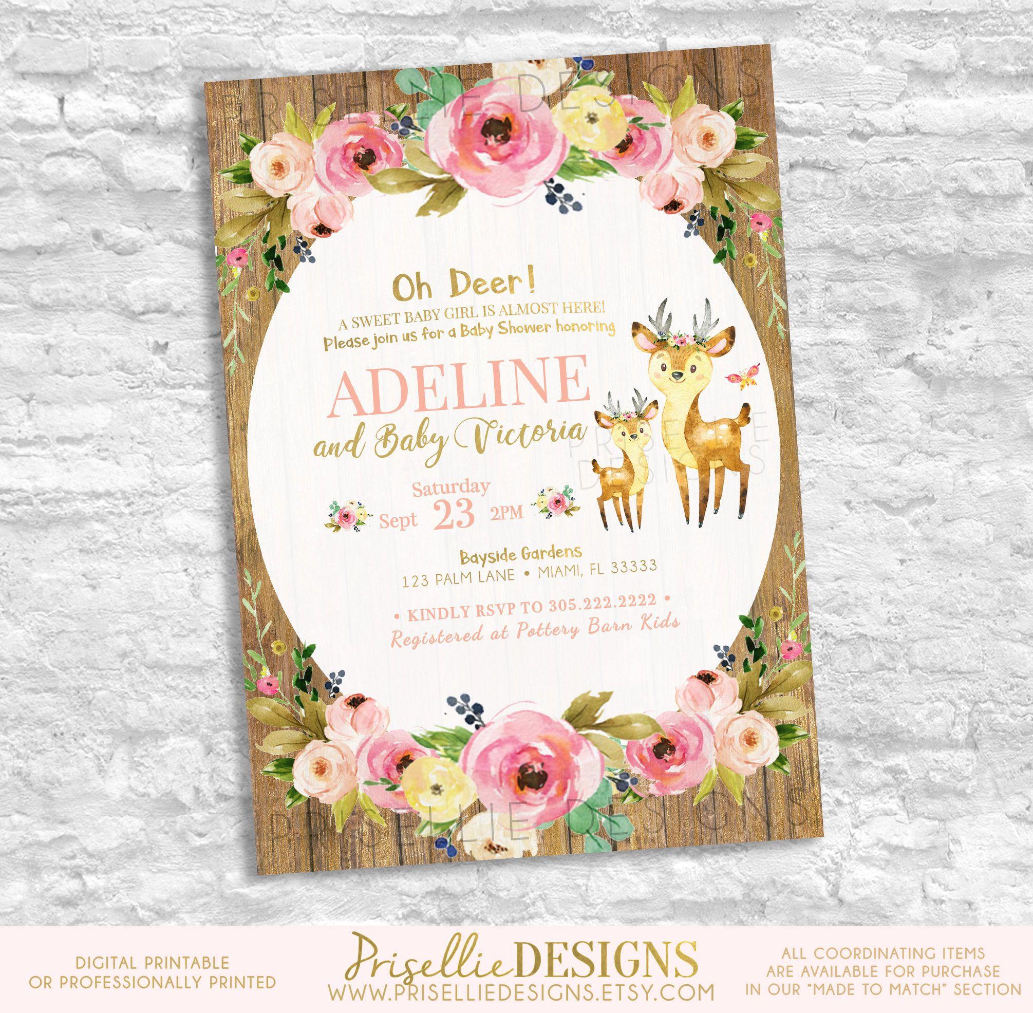 oliveandpinkfloralweddinginvitation shower bunny rectangle invitation co baskan flower invitations idai baby