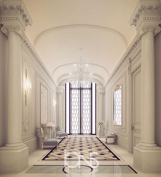 Interior Design Company Interior Contractors Dubai: Our Latest Entrance Lobby Design • Qatar