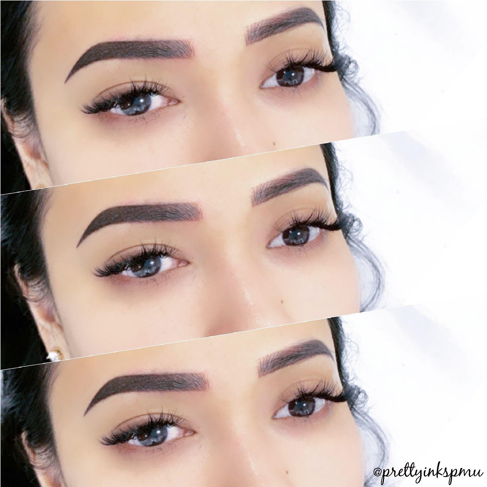 Permanent Makeup Microshading Combination Permanent